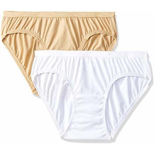 Van Heusen Woman Bikini (Pack Of Two) Colors May Vary(11107_Light Assorted_XXL)