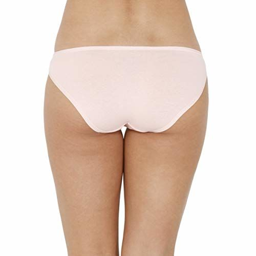 every de by amante Assorted Low Rise Cotton Bikini Panty Pack (Pack of 5) Multi Colour X-Large