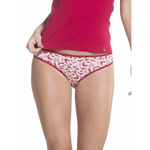 Jockey Women's Cotton Bikini (Pack of 2) (1635_Print Assorted_XXL)(color may vary)