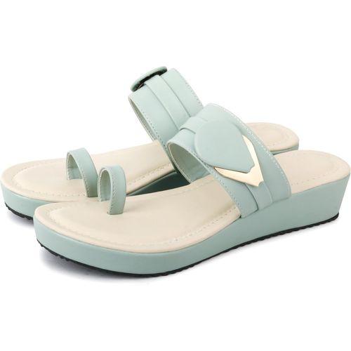 FASHIMO Women Blue Heels