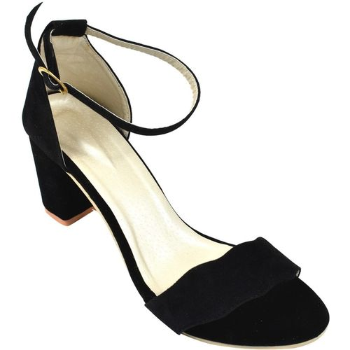 FASHION RIDE Women Black Heels