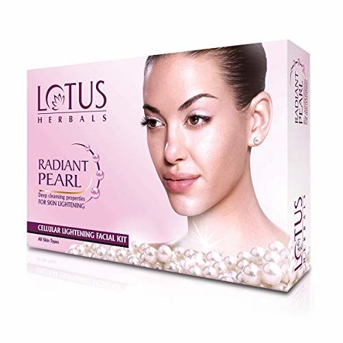Lotus Herbals Radiant Pearl Facial Kit, 37g