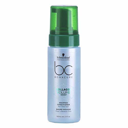 Schwarzkopf Professional Bc Collagen Volume Boost Whipped Conditioner, Green, 150 ml