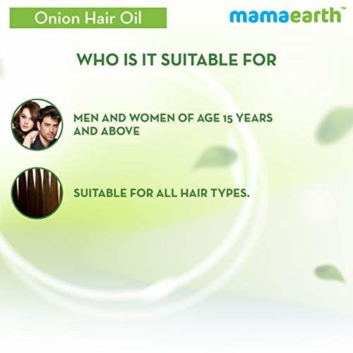 Mamaearth Onion Hair Oil for hair growth with Onion & Redensyl for Hair Fall Control - 250ml