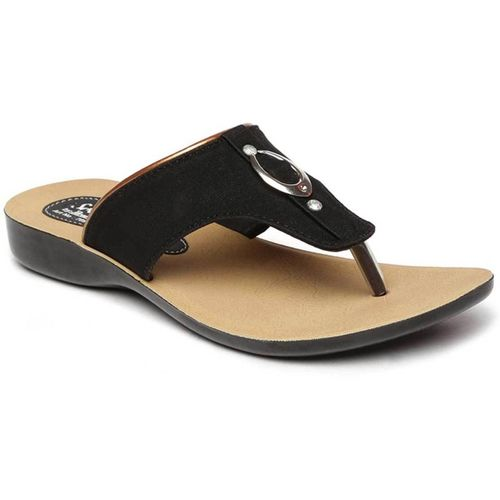 Paragon Women Black, Beige Flats