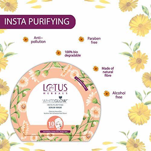 Lotus Herbals WhiteGlow Insta Purifying Serum Mask 20g
