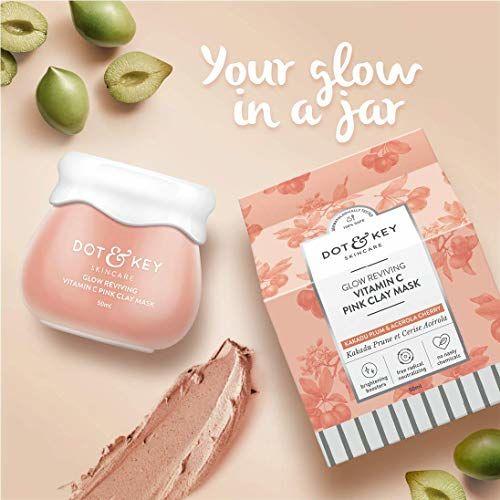 Dot & Key Glow Reviving Vitamin C Pink Clay Mask