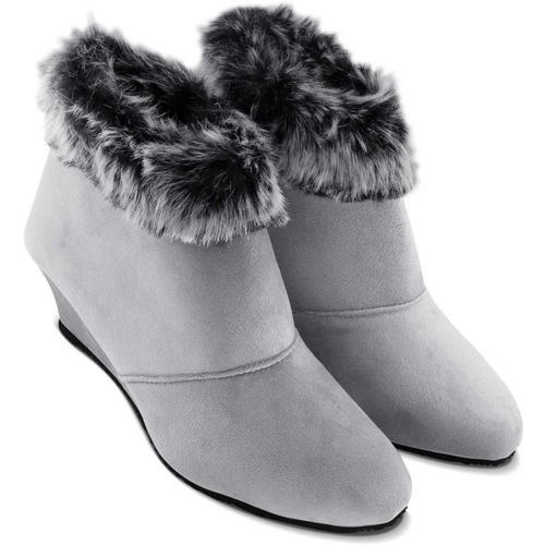 LQQKE Boots For Women(Grey)