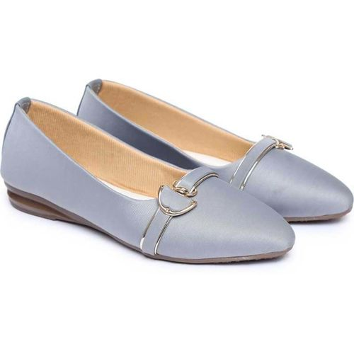 SHOESTHAN BELLIES Bellies For Women(Grey)