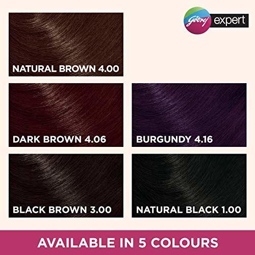 Godrej Expert Rich Creme Hair Colour (Multi Application Pack) - Shade 1 NATURAL BLACK