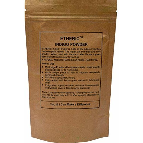ETHERIC Indigo Leaves Powder, 100g