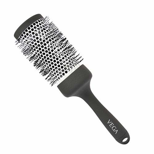 VEGA Hot Curl Brush Large (H2-PRL), Silver, 165 g & VEGA Pro Touch 2000w Professional Hair Dryer with Cool Shot (VHDP-02), Black, 894 g