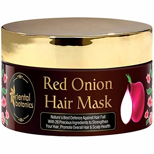 Oriental Botanics Red Onion Hair Mask with Red Onion Oil & 26 Botanical Actives, 200ml