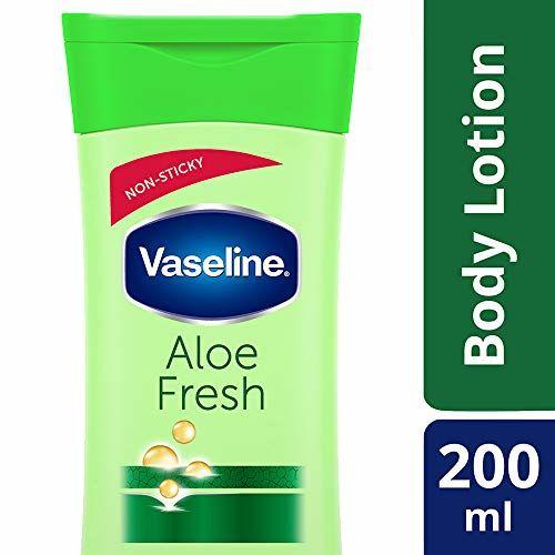 Vaseline Intensive Care Aloe Fresh Body Lotion, 200 ml