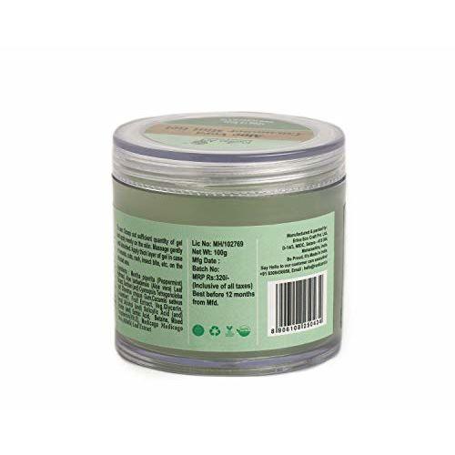 Rustic Art Organic Aloe Vera Cucumber Mint Gel, 100 Gm