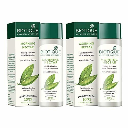 Biotique Bio Morning Nectar Lotion for All Skin Types, 120ml (Pack of 2)