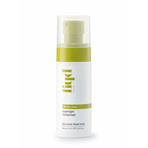 Phy In The Clear Superlight Moisturizer, For Men, Oil & Acne Control, Dermat-Tested | Silicone-Free, 75 Ml