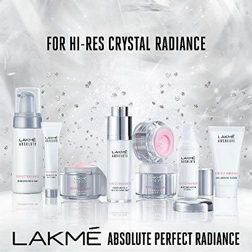Lakme Absolute Perfect Radiance Skin Brightening Day Creme, Light, 50g
