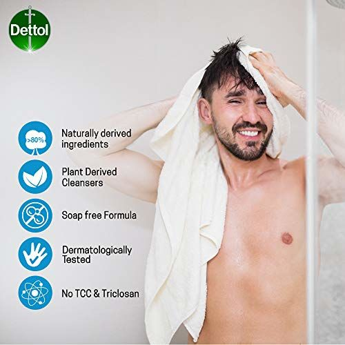Dettol Body Wash and Shower Gel, Cool - 250ml