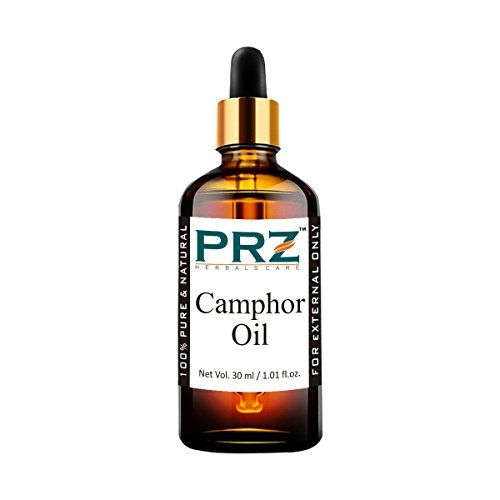 PRZ Camphor Essential Oil (30ML) - Pure Natural Therapeutic Grade Oil Therapeutic Grade Oil For Skin Care & Hair Care