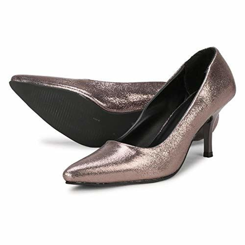 FURIOZZ Comfortable High Heel Ballerinas Collection for Women and Girls Grey