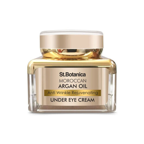 StBotanica Moroccan Argan Oil Anti Wrinkle Rejuvenating Under Eye Cream, 30g - Fights Skin Aging, Fine Lines and Dark Circles