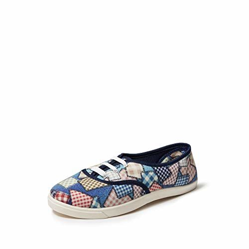 ELISE Women's Blue Sneakers-7 UK/India (40 EU) (NVS-457)