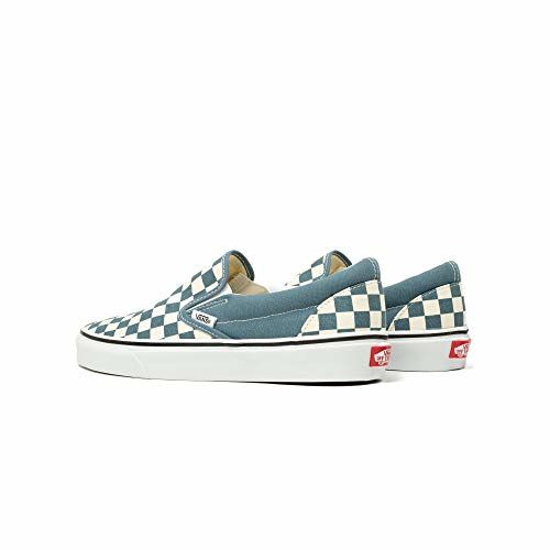Vans Unisex's Classic Slip-On Chb Blu Mrg/True Wht Sneakers-10 UK (44 EU) (11 US) (71002328)