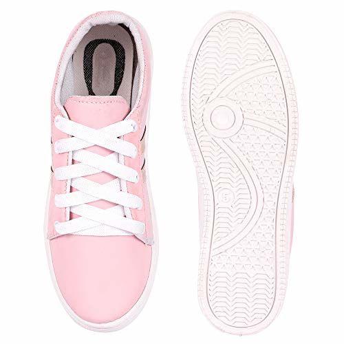 Longwalk Women's Pink Sneaker -7 UK