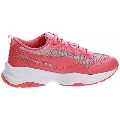 Puma Unisex Cilia Jr Calypso Coral-Bridal Rose Grey Sneakers-6 UK (39 EU) (7 Kids US) (37052503)