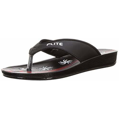 FLITE Women's Bkbk Flip-Flops - 7 UK/India (40.67 EU)(PUL046L)
