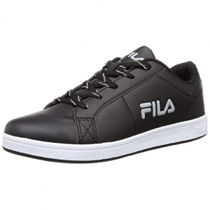 Fila Black Lace Up Synthetic Sneakers