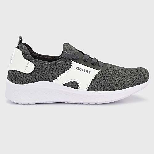 Belini Women's Dark Grey Running Shoes