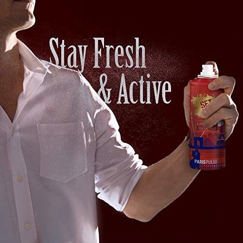 Set Wet Global Global Edition Perfume Spray For Men, Paris Pulse, 120 ml