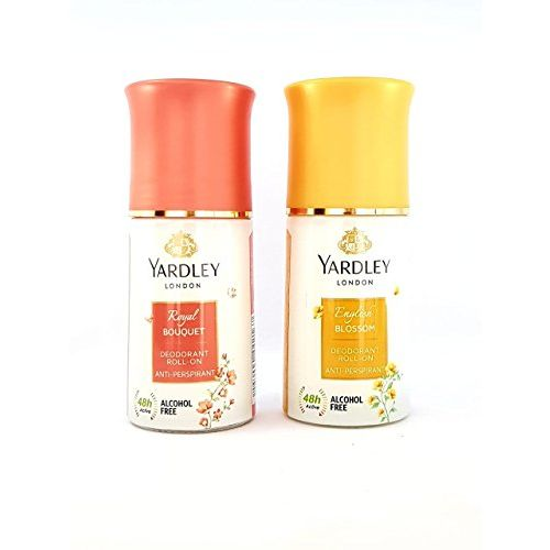 Yardley Royal Bouquet and English Blossom Roll-on -Combo of 2