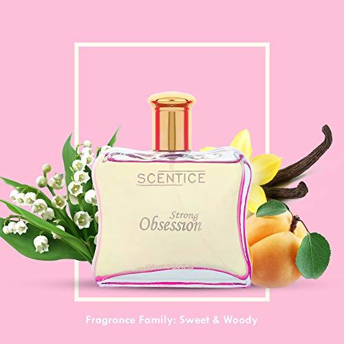 Scentice Strong Obsession Eau De Parfum For Women   Long Lasting Perfume   100 ml   Sweet & woody