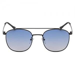 ROYAL SON Blue Unisex Retro Square Sunglasses Aviator Goggles