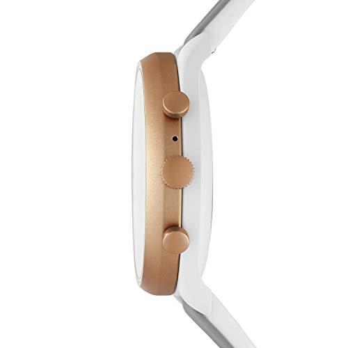 Fossil FTW6025 Grey Round Silicone Smart Watch