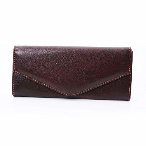 Generic Brown Synthetic Hand Wallet