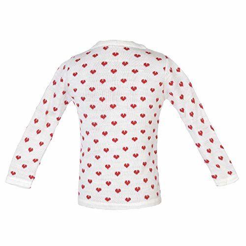 ADDYVERO Geometric Print Turtle Neck Casual Baby Girl's Sweater