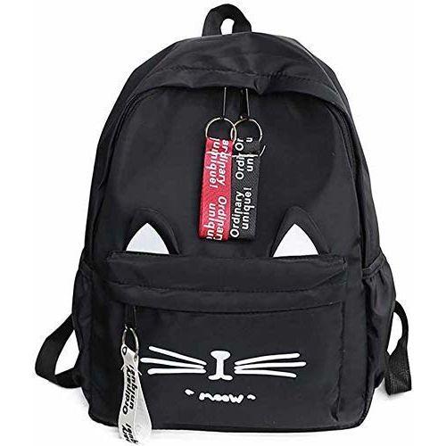 DIVING DEEP Black Water Proof Causal Travel School Backpack