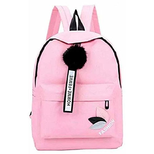 Exporyk Pink Leather Casual Backpak (AE-003)