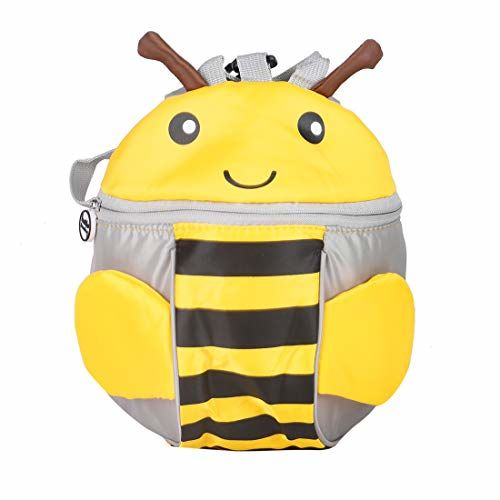 MINISO Kid's Little Bee Anti-Lost Backpack (Yellow)