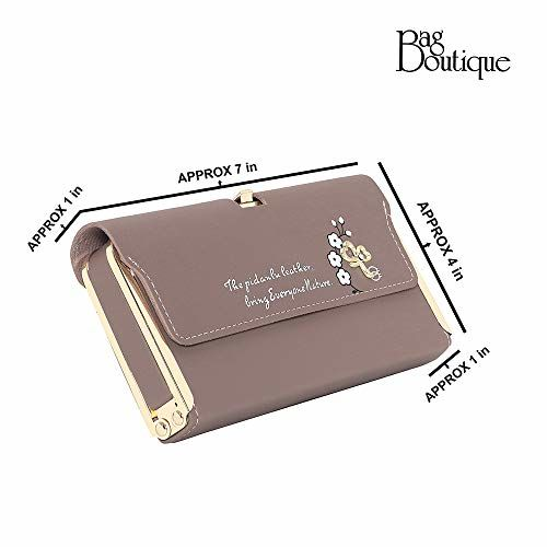 Bag Boutique Beige Wallet for Daily use