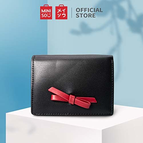 MINISO Black Small Wallet Purse