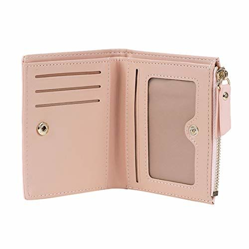MINISO Pink Leather Wallet