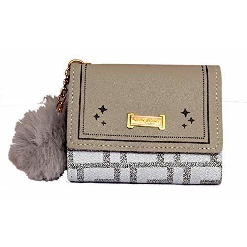 Generic Small Fancy Cash Wallet for Girls (Grey)