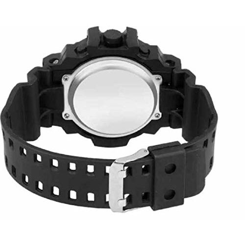 selloria Digital Boys' Watch (Black Dial Black Colored Strap) (Pack of 2)