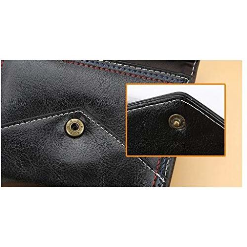 Farraige Black Fashion PU Leather Women Card Holder Wallet
