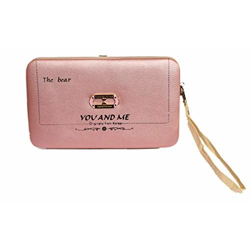 Generic Pink Casual Leather Style Wallet